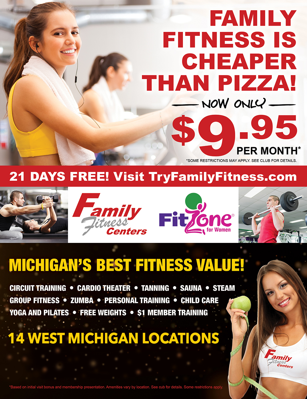 Workout for $9.95 Per Month